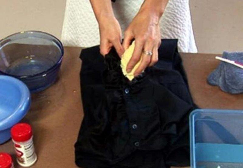 cum să elimini petele de grăsime din bumbac