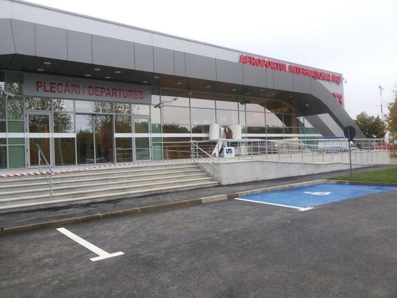 """Ziarul de Iași: """"Încurcate sunt căile către Aeroport. Terminal mutat din vest în est, proiect de la zero."""""""
