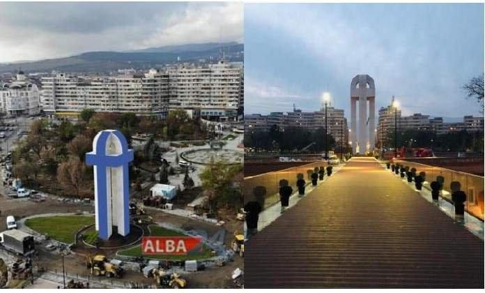 Un monument în formă de penis a apărut în mijlocul Bucureștiului și nimeni nu știe al cui e