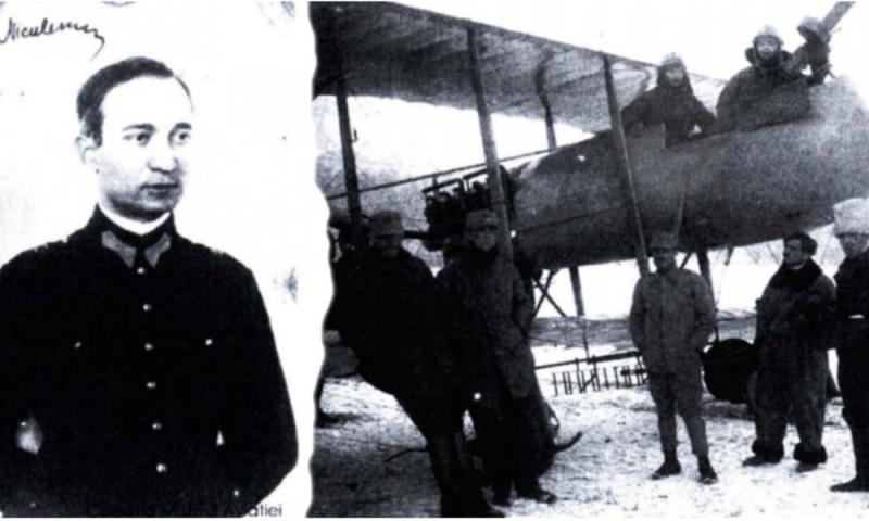 Vasile Niculescu, eroul anonim al Marii Uniri. Aviatorul care a zburat la  -40 de grade