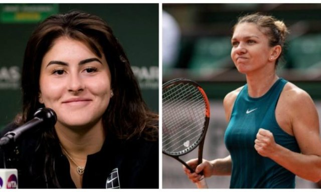 Andreescu and Halep