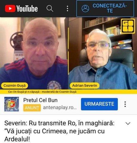 """CNA a sancţionat Gold FM din cauza balivernelor """"vărsate"""" pe post de Guşă şi a infractorul Adrian Severin"""