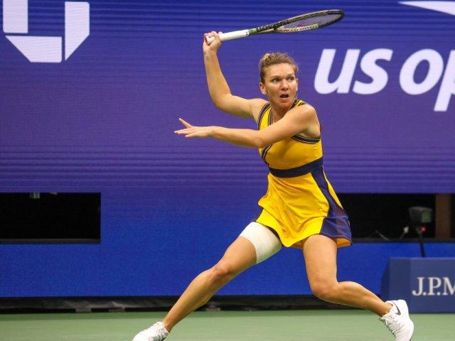Simona Halep după victoria cu Kristina Kucova: Sunt mai încrezătoare
