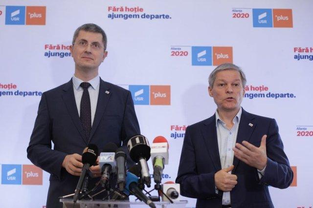 """Lider USR PLUS: """"Singurul subiect al şedinţei este modul cum ieşim de la guvernare"""""""