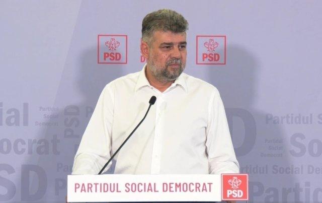Ciolacu: Îi așteptăm pe cei din USR PLUS să termine cu baletul și să semneze moțiunea