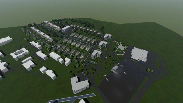 """IMAGINI: Moştenitorii lui Winkler vor să ridice un complex de birouri, blocuri şi vile lângă """"Socola"""""""