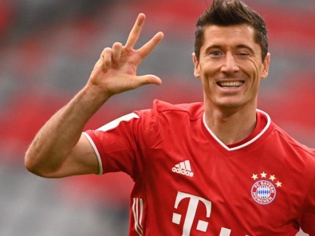 Lewandowski a urcat pe locul al treilea în clasamentul all-time al golgheterilor Ligii Campionilor