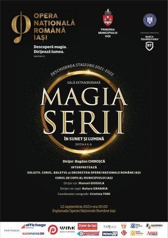 """Gala care deschide stagiunea la Opera Iași: """"Magia serii în sunet și lumină"""""""