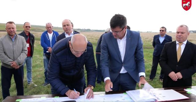 VIDEO: Doi ani pentru amenajarea Iaşi Industrial Park pe un teren din Lețcani