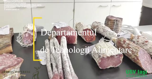 Specialiştii de la Agronomie testează produse din carne pentru mediul privat