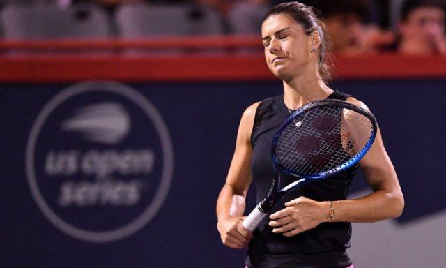 Sorana Cîrstea a fost eliminată în turul doi la US Open