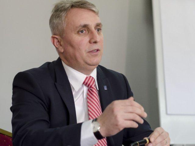 Lucian Bode: Astăzi intrăm în şedinţa de guvern cu proiectul Anghel Saligny