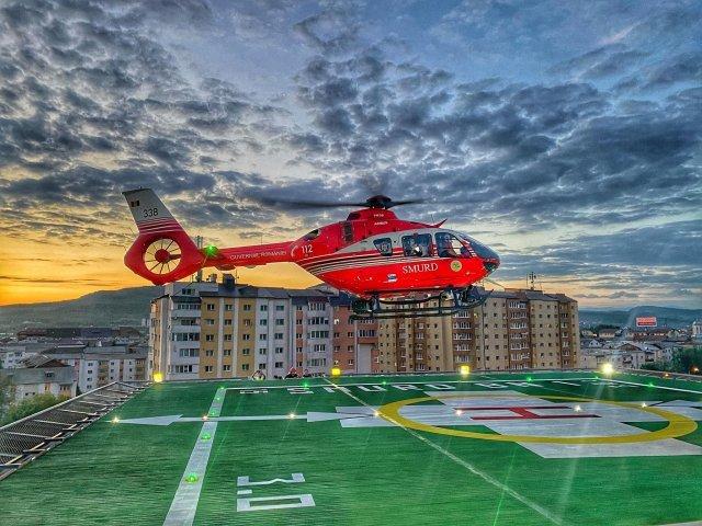 Heliport la Spitalul din Bistriţa. Arafat: O şansă în plus pentru pacienți