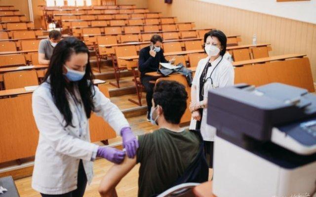 La examenele UMF se va intra cu certificat de vaccinare sau cu un test negativ