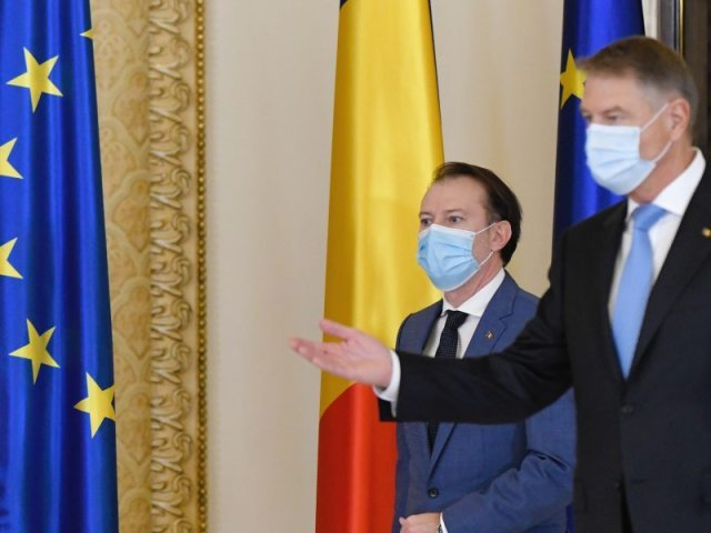 Preşedintele Iohannis va avea o întâlnire cu premierul Cîţu pe tema crizei guvernamentale