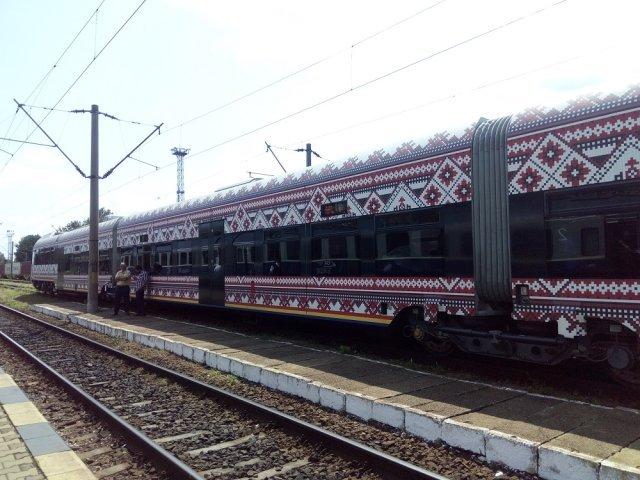 Este gata primul tren diesel românesc făcut la Pașcani. A fost testat cu saci de nisip