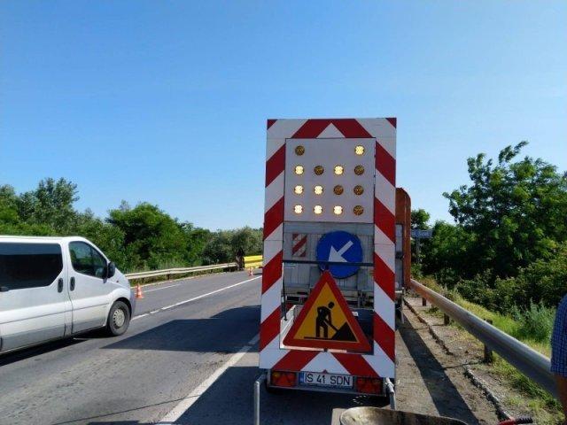 Şantierele podurilor noi de pe Europeană: se închide cel de la Mirceşti, se deschide cel de la Sârca