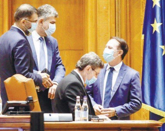 """PSD i se alătură lui Cîţu în """"echipa câştigătoare"""". Miniştrii USR PLUS isi depun azi demisiile"""