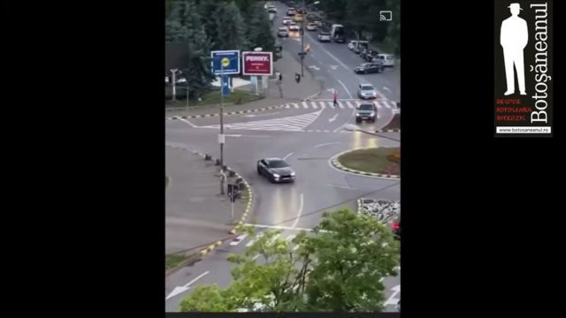 Drifturi cu un BMW înmatriculat în Galați făcute în Botoșani de un individ din Iași