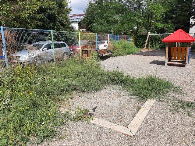 FOTO: Parcuri și locuri de joacă din Iași, lăsate de izbeliște