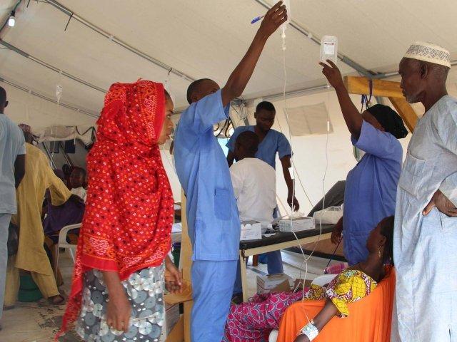 Peste 2.000 de persoane au murit în Nigeria în urma unui focar de holeră