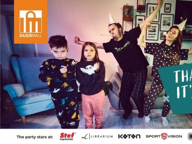 """""""Thank God It's back to School"""": începe """"vacanța"""" părinților cu oferte pentru copii, la Iulius Mall Iași"""