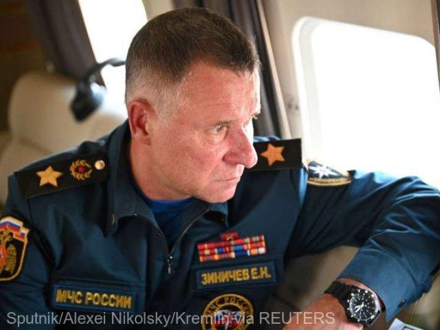 Rusia: Ministrul pentru Situaţii de Urgenţă a murit în timpul unui antrenament