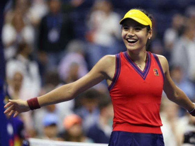 COSR a felicitat-o pe Emma Răducanu pentru succesul de la US Open