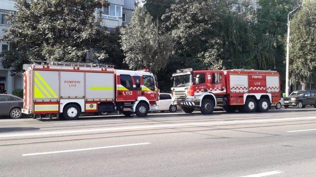 Incendiu într-un apartament de pe Șoseaua Moara de Foc, lângă Autocenter