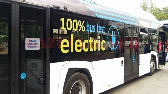 Autobuzele electrice din București s-au scumpit cu 30% de la Firea la Nicușor Dan