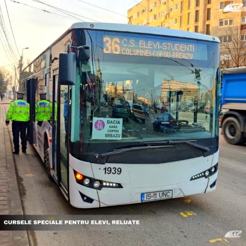 TRASEE & ORAR: Pe unde și când vor circula autobuzele și tramvaiele pentru elevi