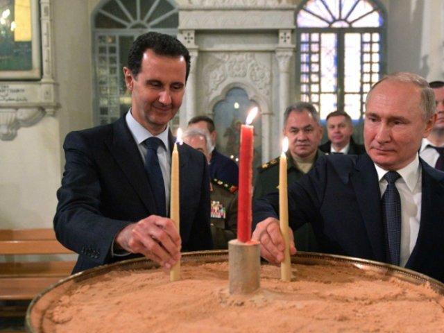 Vladimir Putin critică în mod ipocrit prezenţa unor forţe străine în Siria