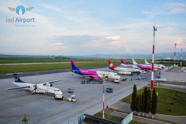 Ca înainte de pandemie. Peste 100.000 de pasageri la Aeroportul Iași în august