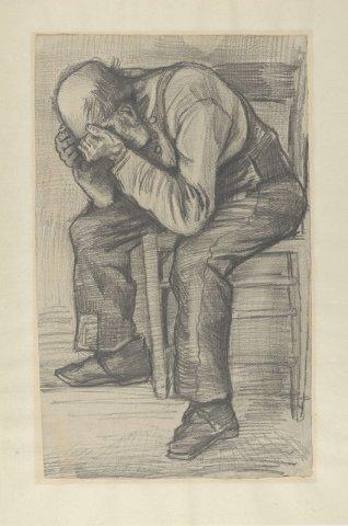 Desen de Vincent van Gogh, recent descoperit, expus la muzeul din Amsterdam