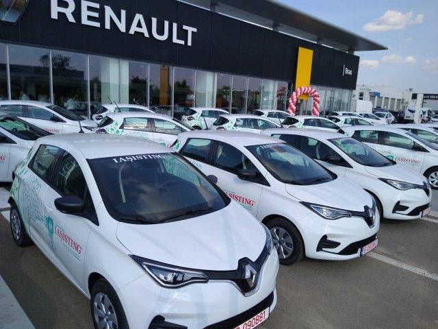 Cea mai mare flotă de mașini electrice noi din țară aparține unei firme din Iași