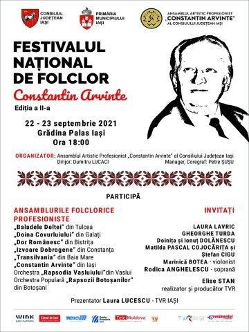 """Festivalului Național de Folclor """"Constantin Arvinte"""", a doua editie (P)"""