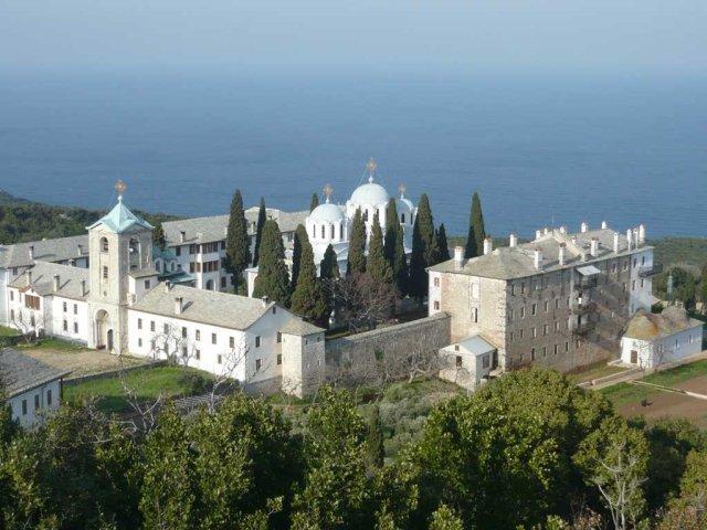 Schitul Românesc Prodromu infirmă existenţa unui focar de Covid în Muntele Athos