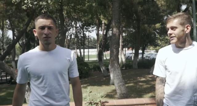 VIDEO: Cicâldău, profesor de turcă pentru Moruțan. S-au distrat la Galatasaray