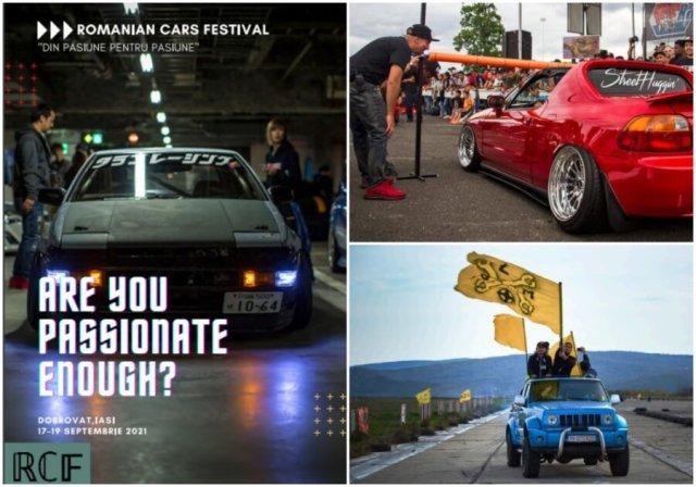 ROMANIAN CARS FESTIVAL la Dobrovăţ, IASI! Eveniment dedicat pasionaţilor de automobilistică și concerte în aer liber
