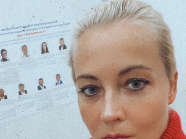 """Soţia lui Navalnîi la alegeri în Rusia: """"Să nu credeţi când ei vă spun că totul este decis"""""""