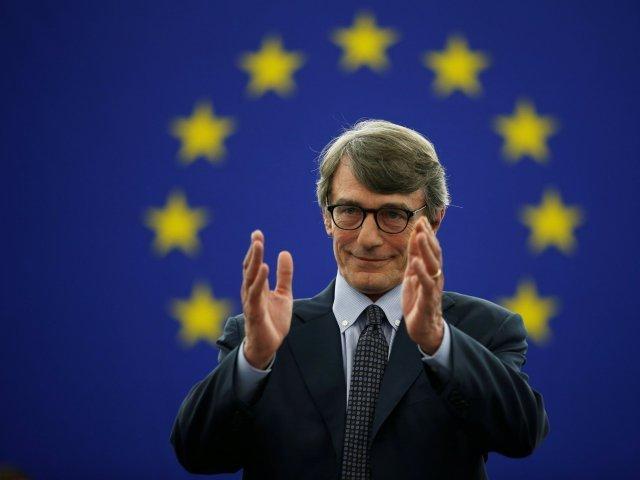 Preşedintele Parlamentului European, David Sassoli, spitalizat şi tratat de pneumonie la Strasbourg