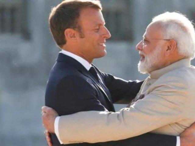 Macron răspunde la criza submarinelor australiene cu o alianţă cu India