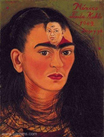 """Povestea autoportretului """"Diego y yo"""" semnat Frida Kahlo. Va stabili un record de licitaţie"""
