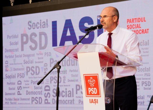 Maricel Popa, șeful PSD Iași: Suntem pregătiți să facem orice demers care să ne direcționeze spre alegeri anticipate, dacă alocările de proiecte prin PNI nu vor fi realizate echitabil! (P)