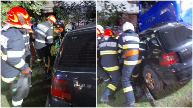 Patru oameni şi-au pierdut viaţa după ce au intrat cu mașina sub un TIR