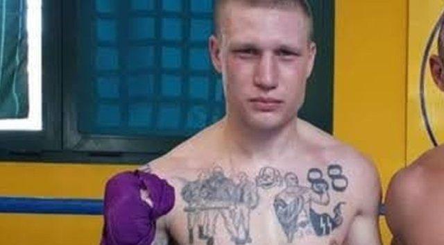Un boxer a fost suspendat pentru că are tatuaje cu simboluri naziste