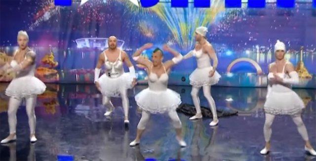 VIDEO Dansul care a ridicat juriul și publicul în picioare, printre hohote de râs