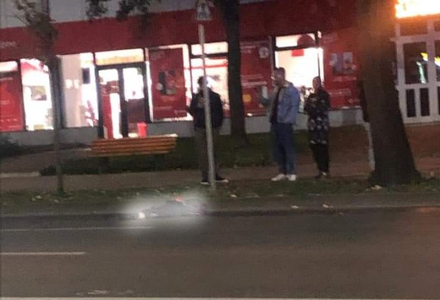 VIDEO Accident mortal pe Independenței, noaptea trecută. Pieton rupt în două