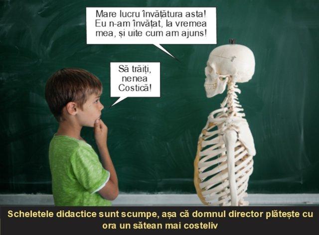 Învăţământul românesc: dotări de toţi banii!