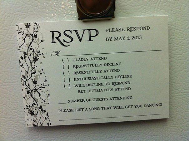 Foto Cum Poţi Transforma O Invitaţie La Nuntă într Un Experiment